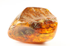 Raw amber stock photo