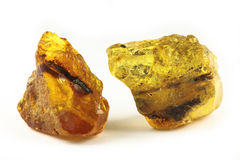 Raw amber Stock Images