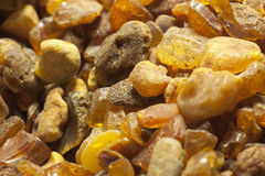 Raw amber Royalty Free Stock Image