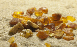 Raw amber Royalty Free Stock Photo