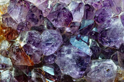 Raw amethyst Royalty Free Stock Image