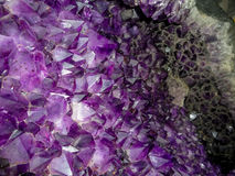 Raw Amethyst. Stock Images