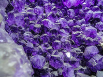 Raw Amethyst. Royalty Free Stock Images