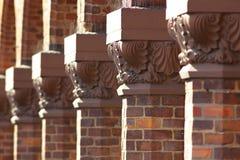 Raw of Arichitectonic Capitals. View of raw of Arichitectonic Capitals Royalty Free Stock Image
