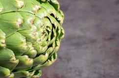 Raw artichoke. Close up. Whole artichoke stock images