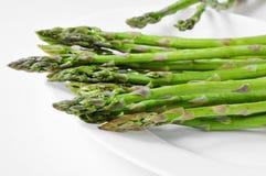 Raw asparagus Stock Image
