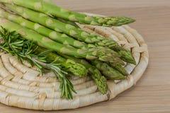 Raw asparagus Royalty Free Stock Image