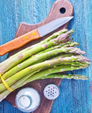 Raw asparagus Royalty Free Stock Photography