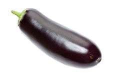 Raw aubergine Royalty Free Stock Photo
