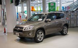 2017 RAW4 Automobile di Toyota japan Fotografie Stock