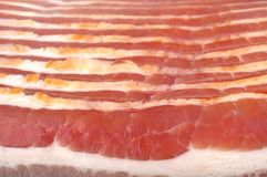 Raw bacon Stock Images