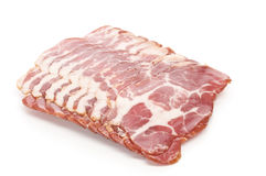 Raw bacon Stock Photos