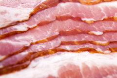 Raw bacon Stock Photo