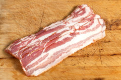 Raw bacon. Stock Photos