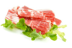 Raw Bacon Royalty Free Stock Image