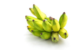 Raw bananas isolated Stock Images