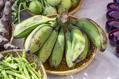 Raw bananas and others Stock Photo
