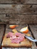 Raw beaf meat Stock Photography