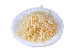Raw bean sprout Stock Image