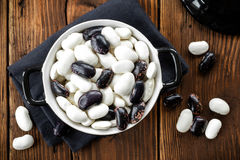 Raw beans Royalty Free Stock Photo