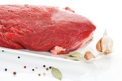 Raw beef. Stock Photo