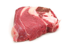 Raw beef with bone Royalty Free Stock Image