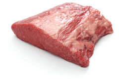 Raw beef brisket Royalty Free Stock Photography
