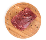Raw beef close up Stock Images