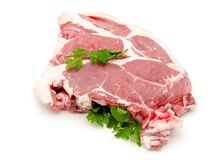 Raw beef Royalty Free Stock Images
