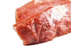 Raw beef filet closeup Stock Image