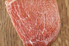 Raw beef filet closeup Stock Photo