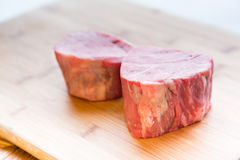 Raw Beef Filet Mignon Royalty Free Stock Image