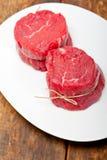 Raw beef filet mignon Stock Image
