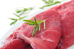 Raw beef fillets Stock Image