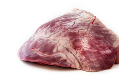 Raw beef  heart - meat Stock Photos