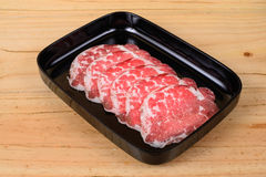 Raw beef hump. Stock Photos