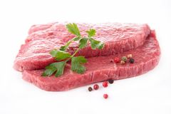 Raw beef Royalty Free Stock Image