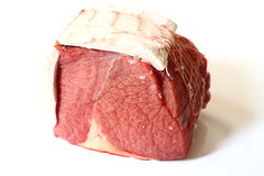 Raw beef joint Stock Photo