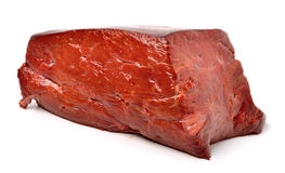 Raw beef liver Stock Photo