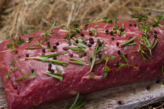 Raw beef. Stock Images