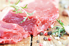 Raw beef meat Royalty Free Stock Photography