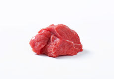Raw beef meat chunk Royalty Free Stock Image