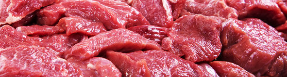 Raw beef meat closeup - Stock Image Stock Photography
