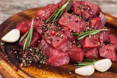 Raw beef meat Stock Photography