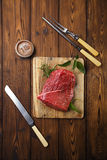 Raw beef meat fillet Royalty Free Stock Photography