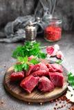 Raw beef meat. Fresh sliced beef sirloin stock photos
