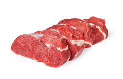 Raw beef meat Royalty Free Stock Photos