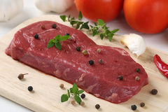 Raw beef meat steak Stock Photo