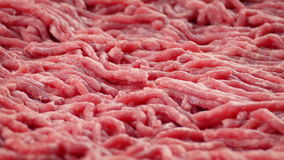 Raw Beef Mince stock footage