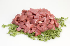 Raw beef Stock Images